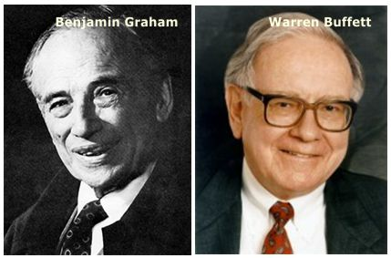 Ben Graham e Warren Buffett
