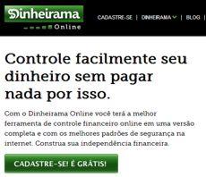 Dinheirama Online: controle financeiro pessoal grátis. Novidades!