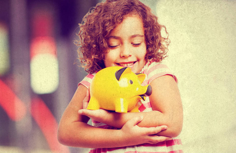 Ensine seu filho a lidar com dinheiro