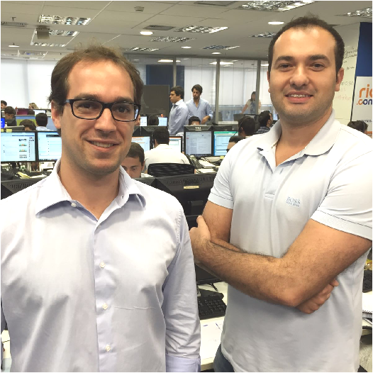 Roberto Indech e Leandro Martins