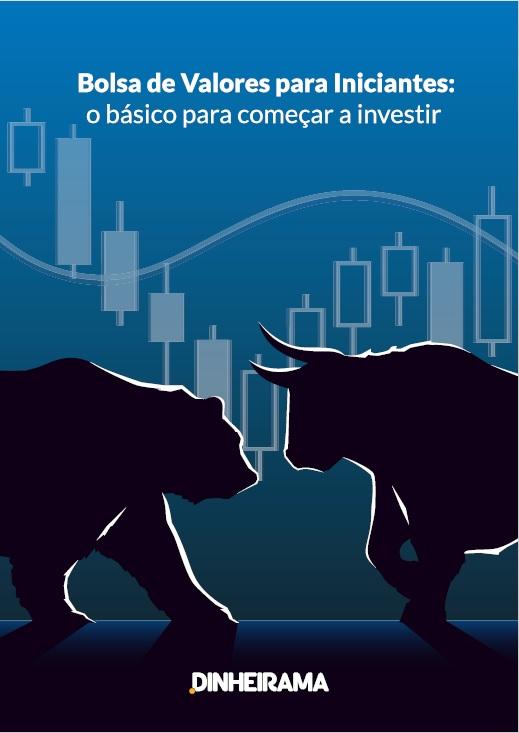 Bolsa de valores para iniciantes, o novo e-book gratuito do Dinheirama!
