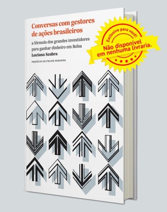 Receba seu livro gratuito: Conversas com gestores de ações brasileiros