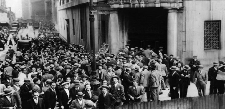 Livro gratuito mostra como a Bolsa quebrou em 1929 nos EUA