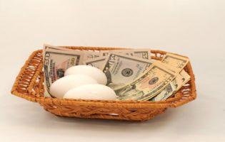 Nunca coloque todos os ovos na mesma cesta, inclusive na vida!