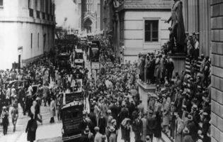 Livro histórico mostra como foi a quebra da Bolsa em 1929