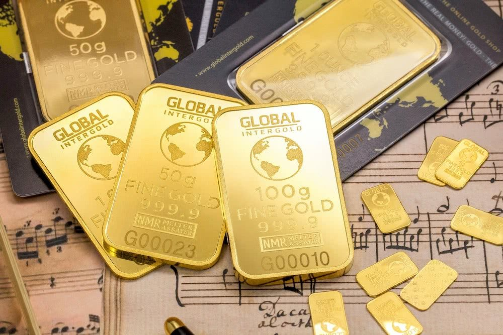 Como investir em ouro - Guia Completo - Barras de ouro